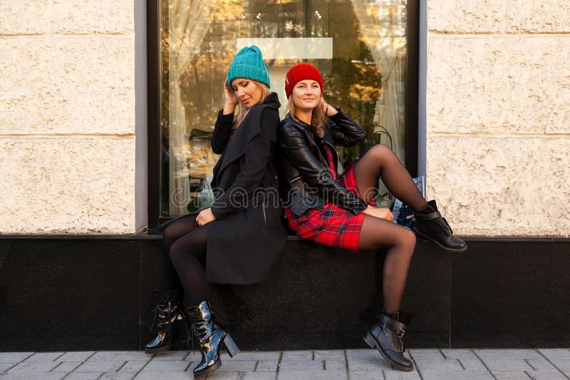 Modelebensstilporträt lizenzfreies stockfoto