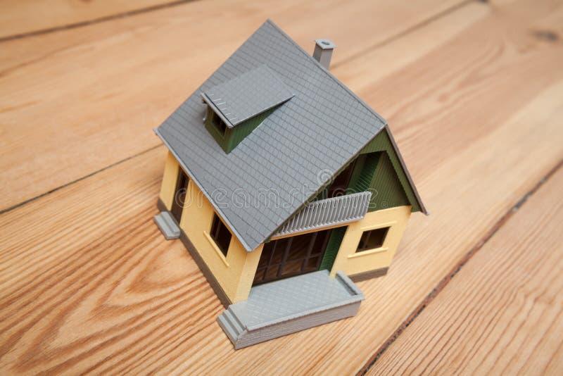 Modell房子 库存照片