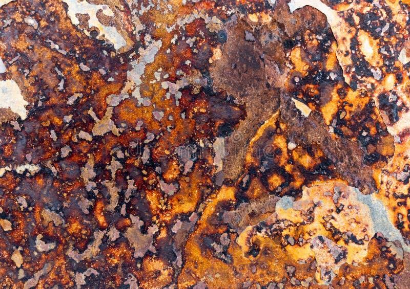 Modell av en järn- stenplatta royaltyfri bild