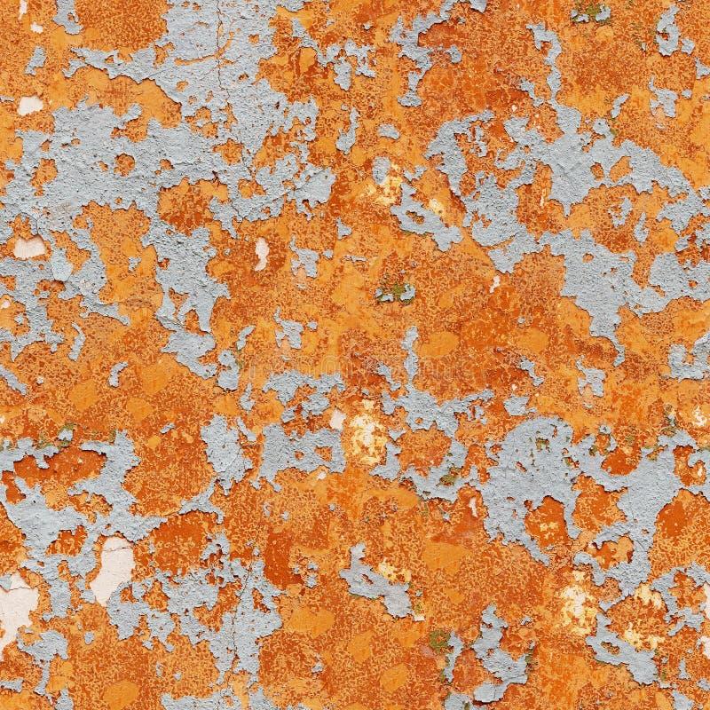 Modell av lantligt orange grungematerial royaltyfri foto