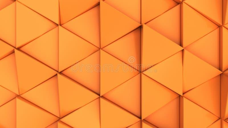 Download Modell Av Orange Triangelprismor Stock Illustrationer - Illustration av maskinvara, begrepp: 106833760