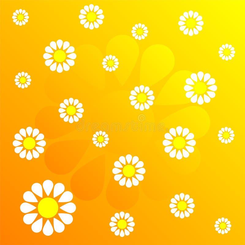 modell för 37 blomma stock illustrationer
