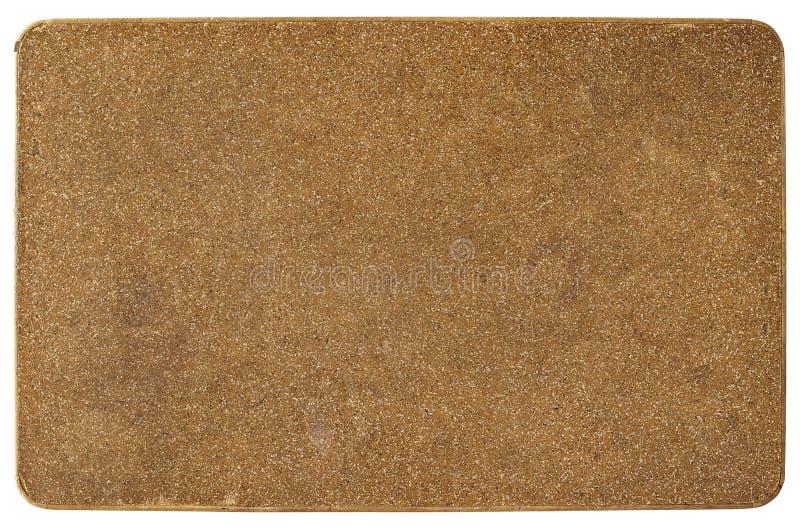 Modell för brun överkant för tabellöverkant arkivbilder