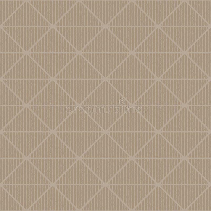 Modell för former för grov diamant för tappningstil royaltyfri illustrationer