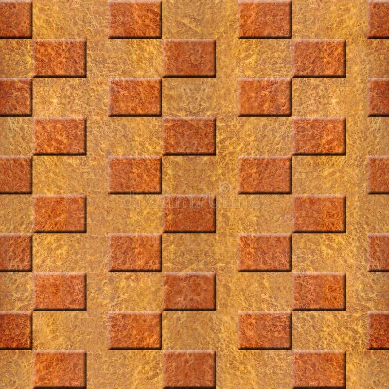 Modell för innerväggpanel - wood textur för Carpathian alm royaltyfri illustrationer