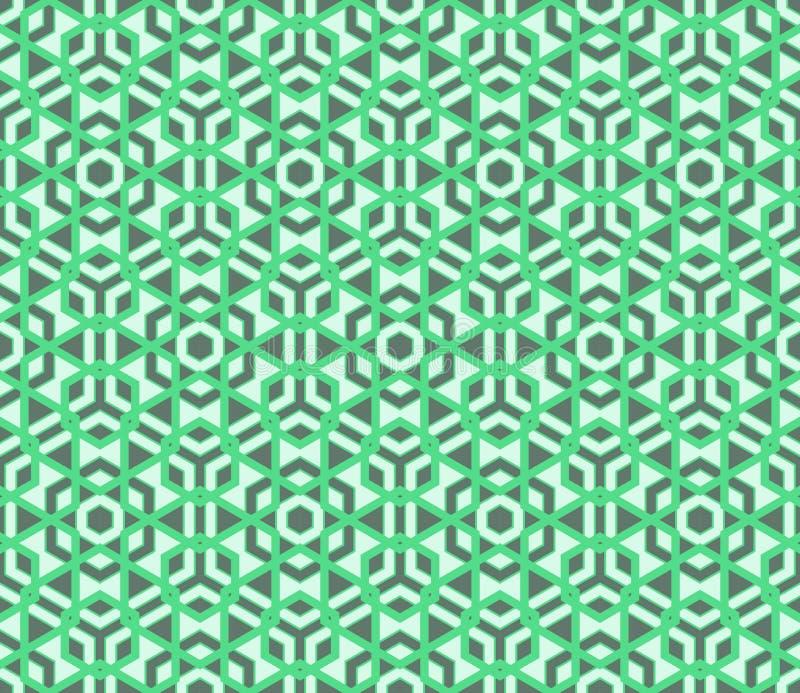 Modell för modern sömlös färgrik geometri för vektor polygonal vektor illustrationer