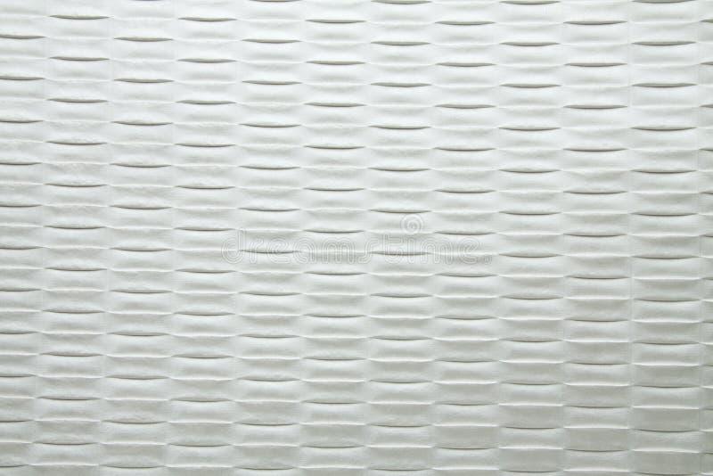 Modell för rengöringsduk för vit för rökfärg konstgjord textur för tyg cell- fotografering för bildbyråer