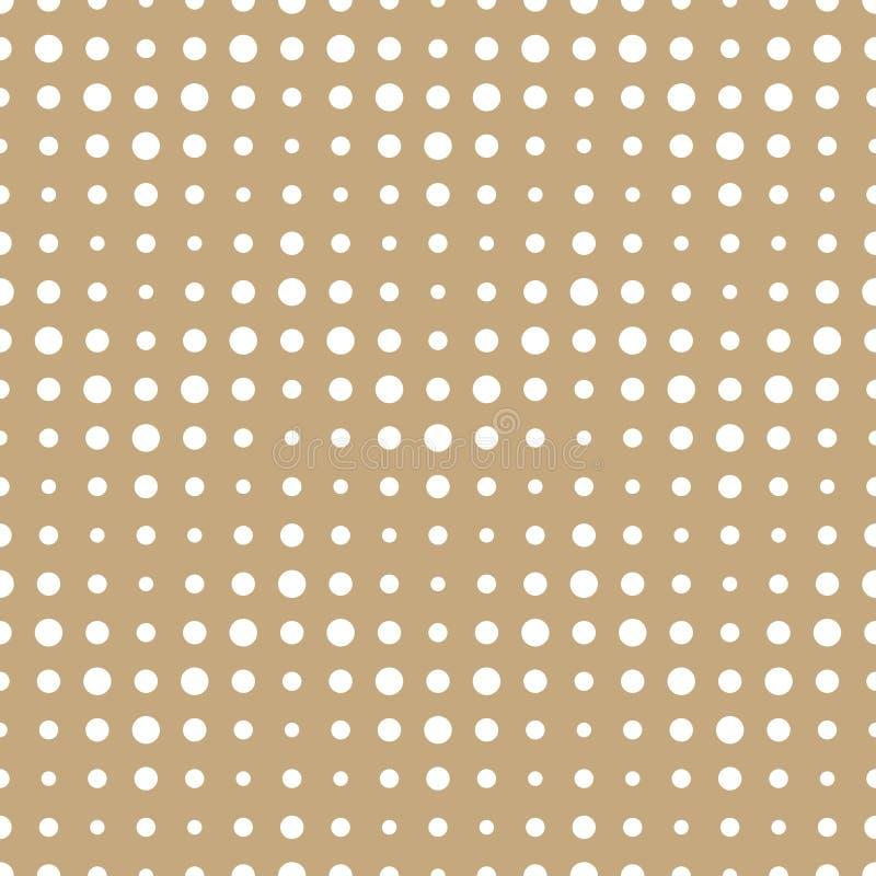 Modell för sparre för abstrakt guld- decokonst för geometri rastrerad royaltyfri illustrationer