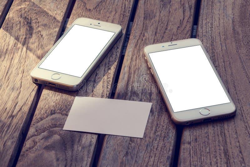 Modell för telefon 6 royaltyfria bilder
