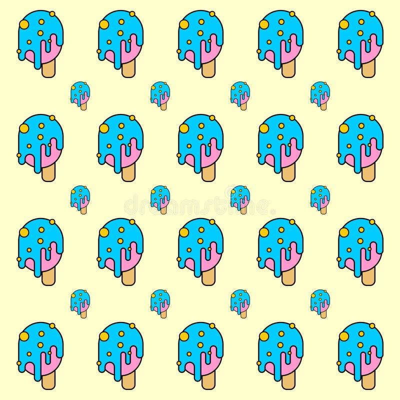 Modell för tryckglassblått f?r f?rggreen f?r bakgrund bl? vektor f?r orange vektor illustrationer