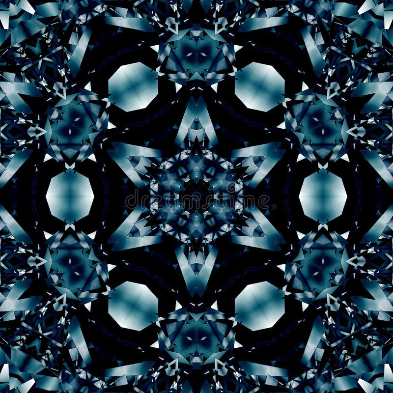 Modell f?r textur f?r metallbakgrundsst?l symmetri vektor illustrationer