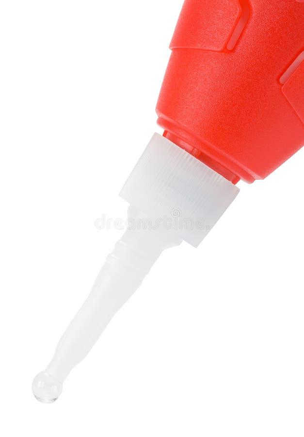 Modell Glue Drip arkivbilder
