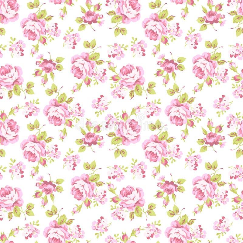 Modell med gula och rosa rosor vektor illustrationer
