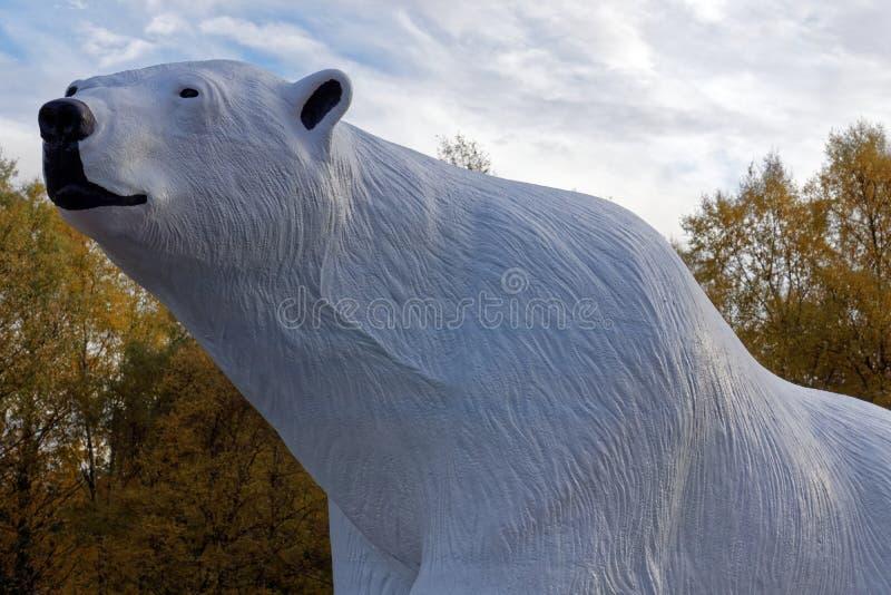 Modell Polar Bear royaltyfri fotografi
