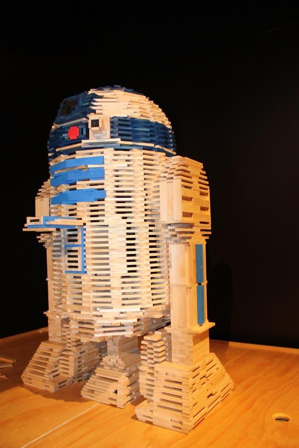 Modell R2D2 stockfoto