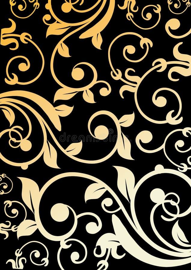 modell texturerad traditionell vektortappning stock illustrationer