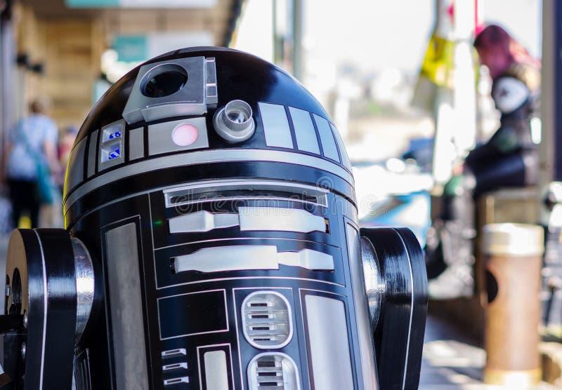 Modell von droid von Star Wars lizenzfreie stockbilder