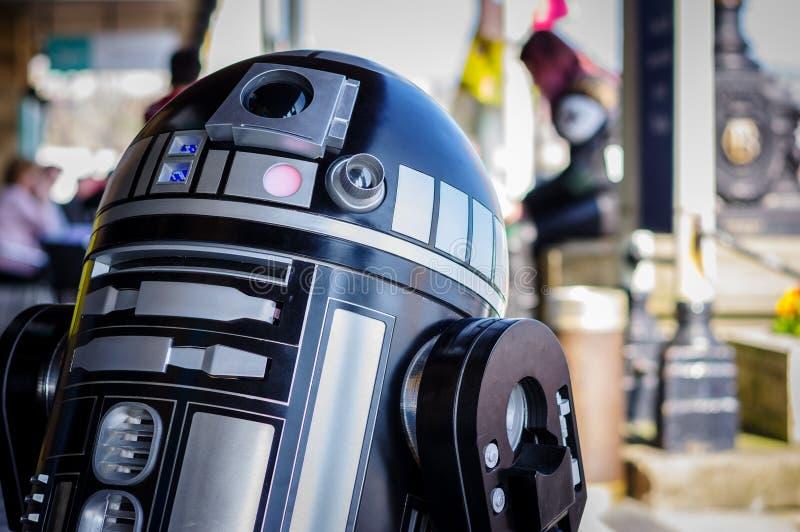 Modell von droid von Star Wars stockbilder