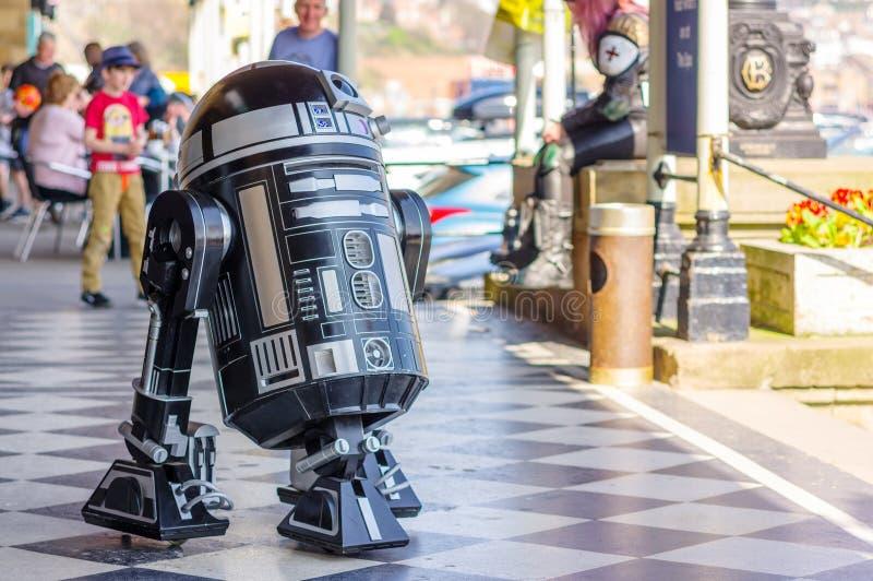 Modell von droid von Star Wars stockfoto