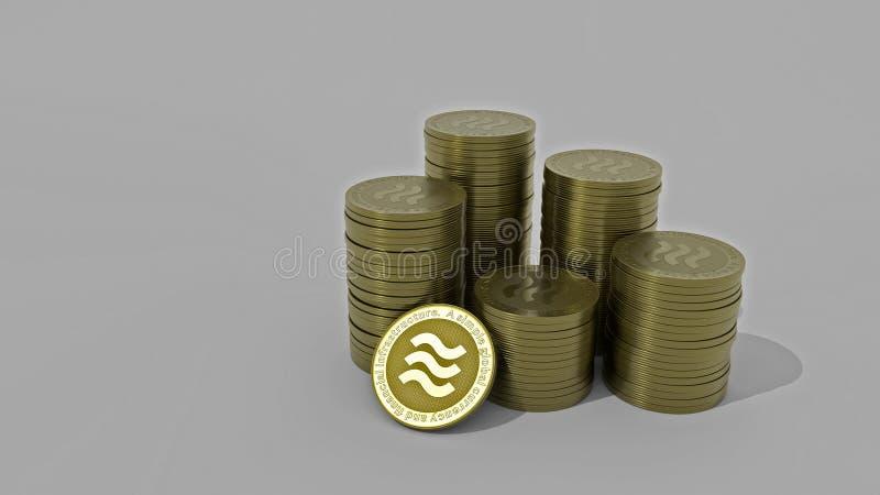 Modell-Waagekonzeptmünzen lizenzfreies stockfoto