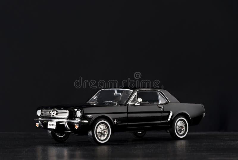 Modellauto-Produktschuß Ford Mustangs 260 stockfotografie