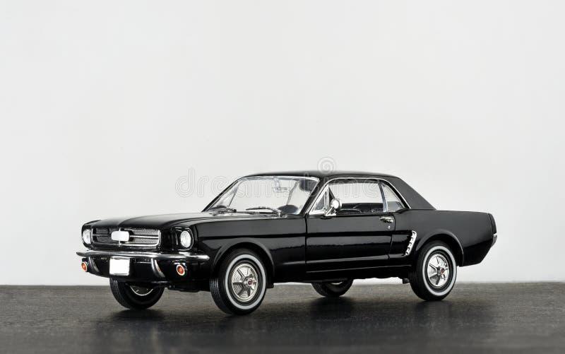 Modellauto-Produktschuß Ford Mustangs 260 lizenzfreies stockbild