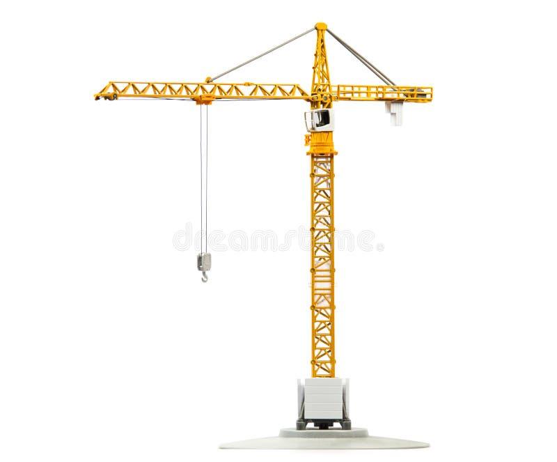 Modellbau des Turmkrans lizenzfreies stockbild