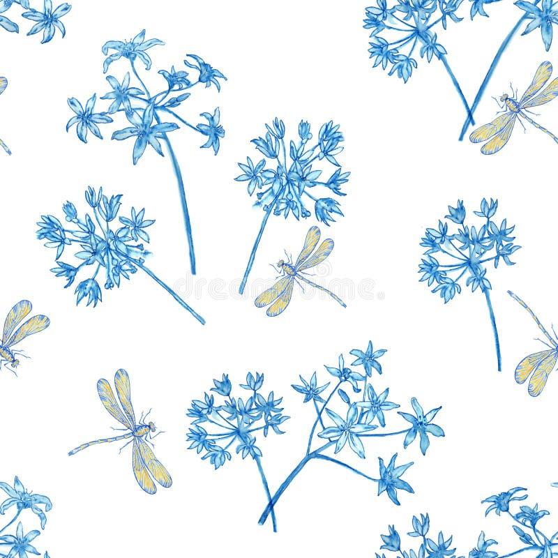 Modellblommablått arkivfoto