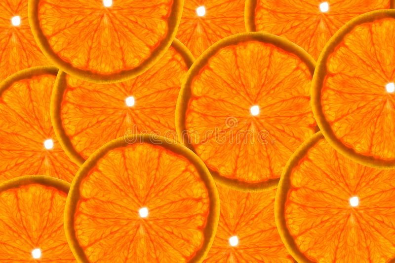 Modellen gjorde fr?n nya grapefruktskivor p? en vit bakgrund, den ?ver huvudet sikten som var flatlay skivad half ananas f?r bakg royaltyfri bild