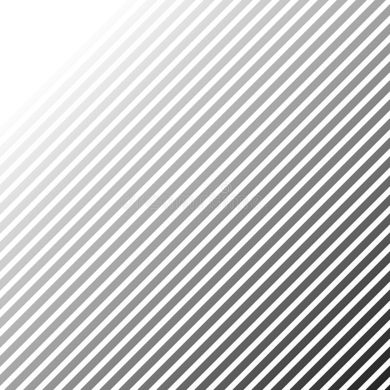 Modellen med att luta, diagonal fodrar - raksträckan, parallell obliq royaltyfri illustrationer