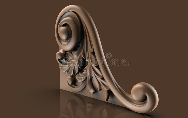Modellen voor architecturaal binnenlands ontwerp, kunstenaar, textuur, grafisch ontwerp, architectuur, illustratie, symbool, rijk stock illustratie