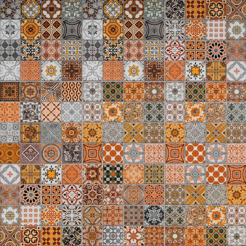 Modeller för keramiska tegelplattor royaltyfria foton
