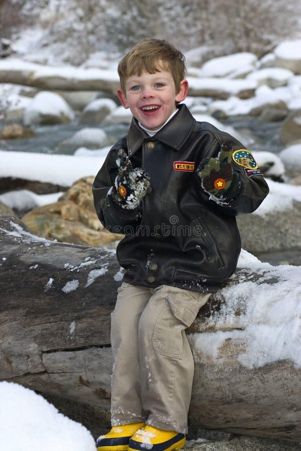 modellera för pojke royaltyfri bild