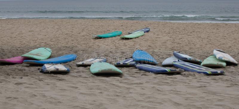 Modelli alla spiaggia fotografia stock libera da diritti