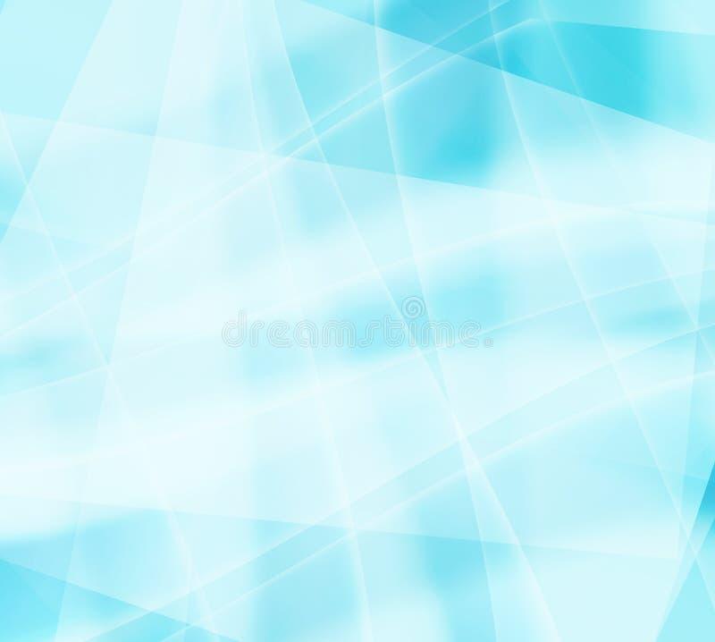 Modelli del ghiaccio con una torsione blu royalty illustrazione gratis