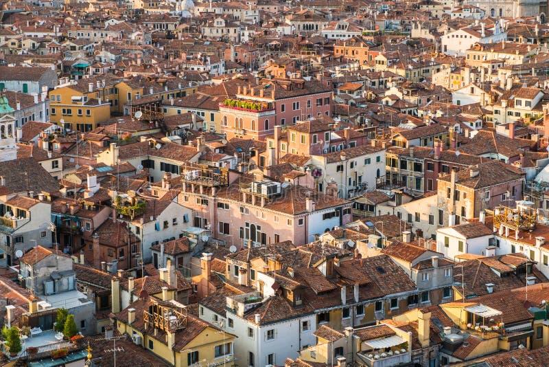 Modelli delle case a Venezia immagini stock libere da diritti