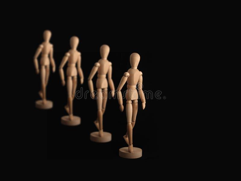 Modelli di legno immagini stock libere da diritti
