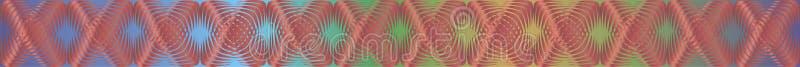 Modelli geometrici con il materiale di riempimento 9 di pendenza fotografie stock