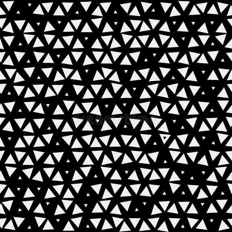 Modelli il triangolo del fondo, retro vettore d'annata di progettazione, geometrico illustrazione di stock