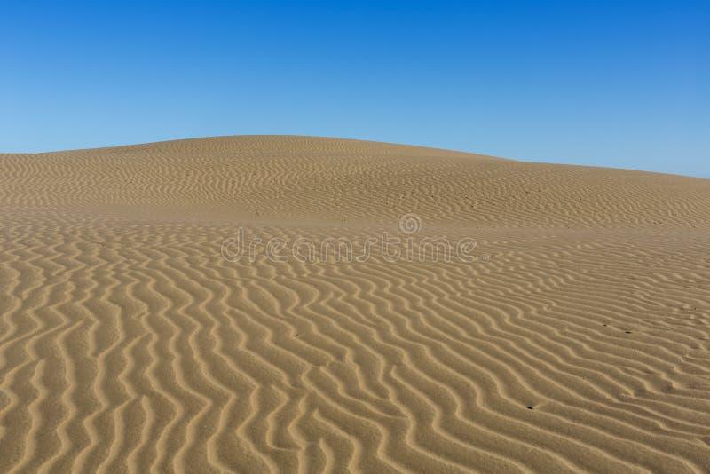 Modelli nella sabbia immagine stock libera da diritti