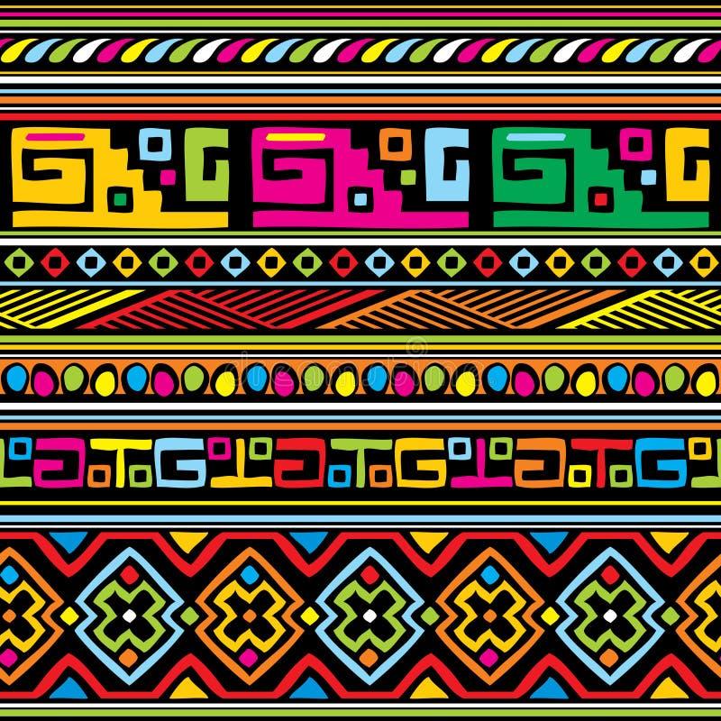 Modello africano illustrazione di stock