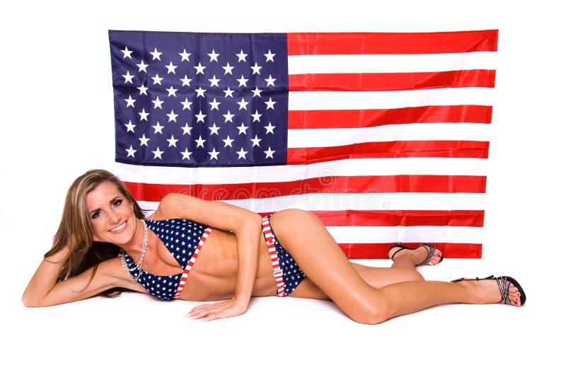 Download Modello Americano Del Bikini. Fotografia Stock - Immagine di festa, celebri: 3880126