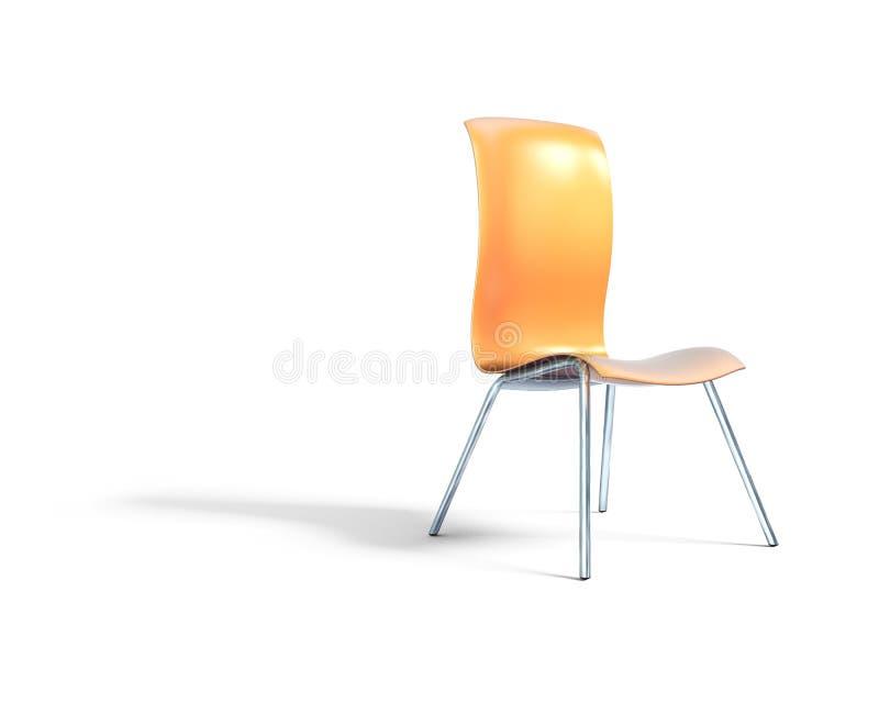 Sedie Ufficio Arancio : Modello anatomico arancio della sedia d illustrazione di stock