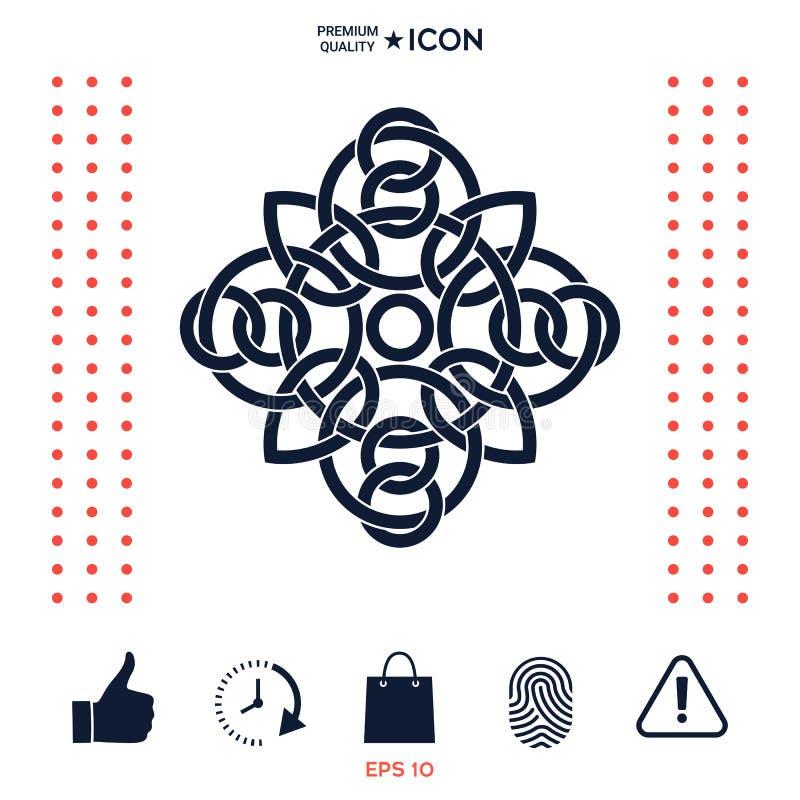 Download Modello Arabo Orientale Geometrico Tradizionale - Logo Elemento Per Il Vostro Disegno Illustrazione Vettoriale - Illustrazione di classico, logotype: 117977475