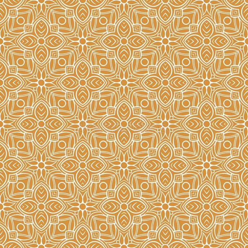 Modello arancio d'annata royalty illustrazione gratis