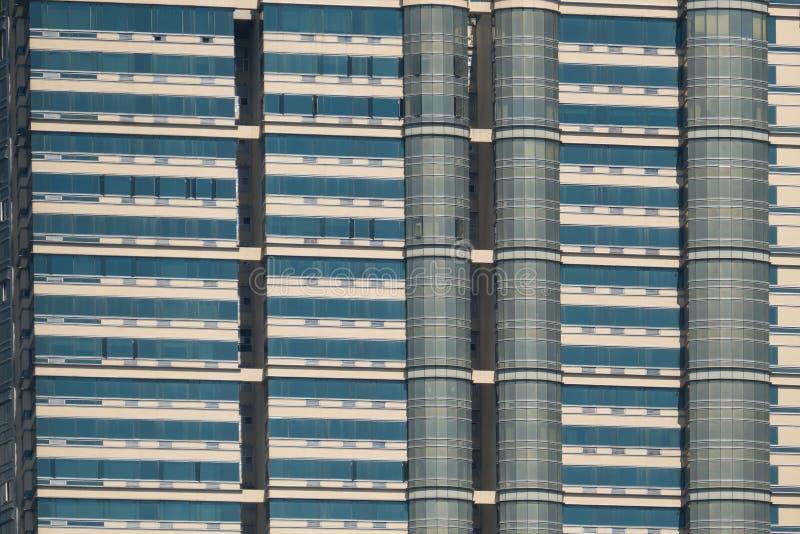 Modello architettonico del grattacielo fotografia stock
