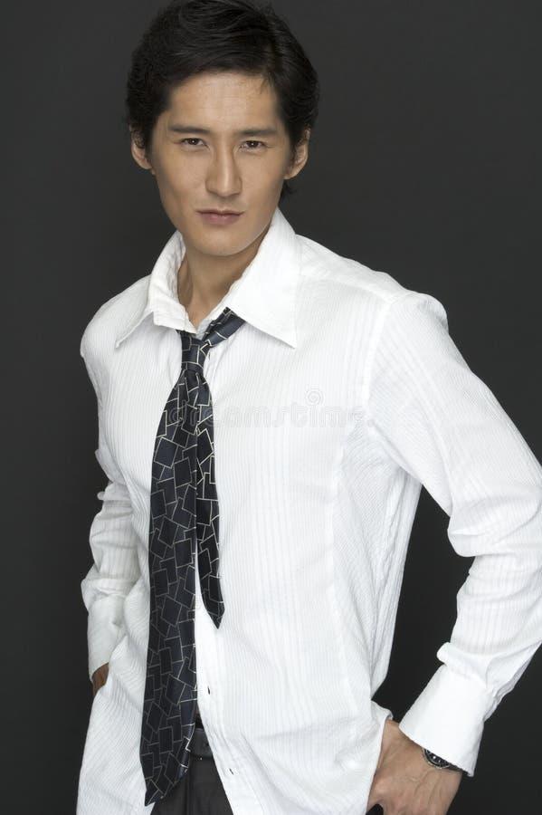 Modello asiatico fotografie stock