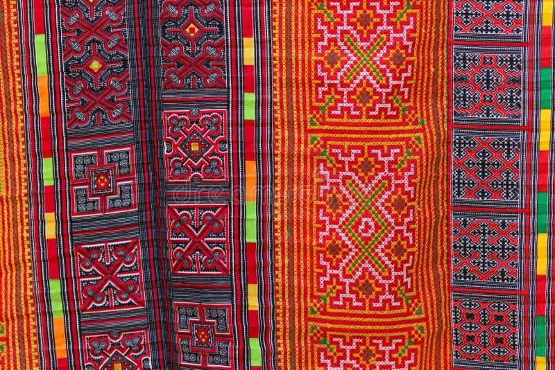 Modello asiatico del tappeto fotografia stock libera da diritti
