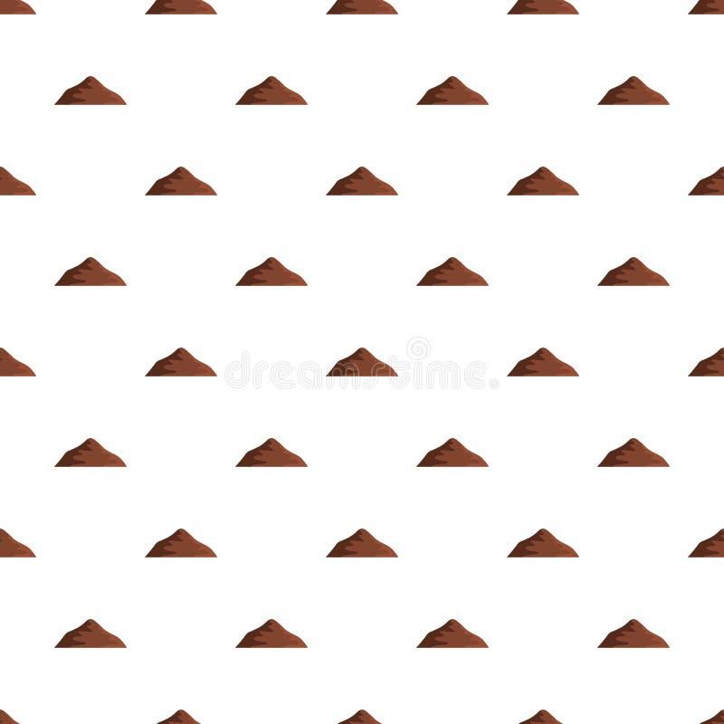 Modello asiatico della montagna senza cuciture illustrazione di stock