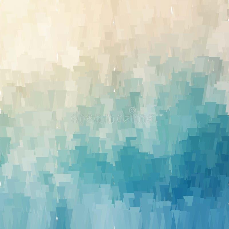 Modello astratto blu del sito Web del fondo royalty illustrazione gratis